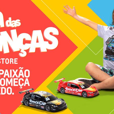 Chevrolet Fan Store lança descontos especiais para o dia das crianças
