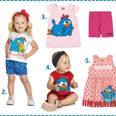 Galinha Pintadinha lança roupas e brinquedos para o Dia das Crianças