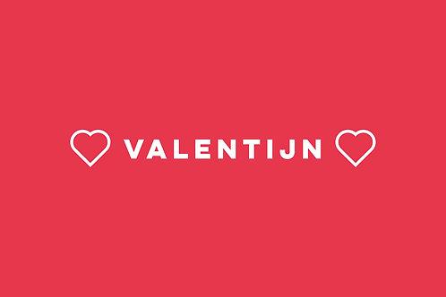 Valentijnsdagmenu