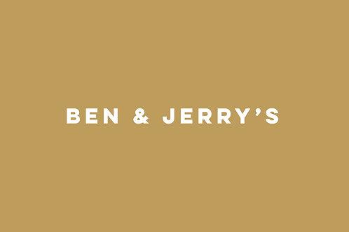 Ben & Jerry's roomijs