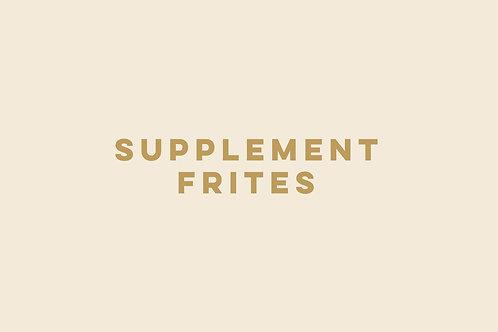 Supplement Frites met frietsaus