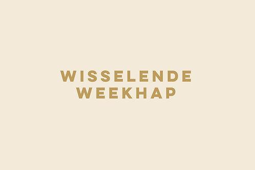 Wisselende Weekhap