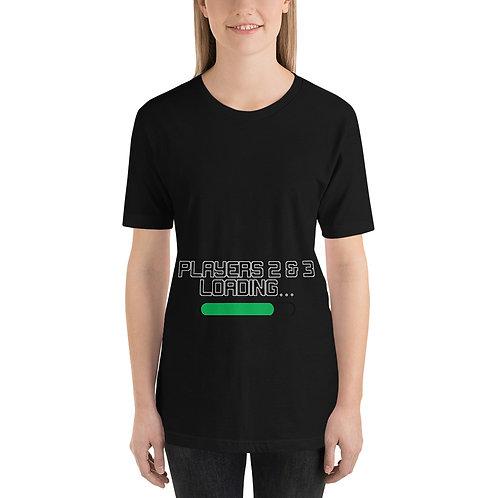 Players 2 & 3 Loading Short-Sleeve Unisex T-Shirt