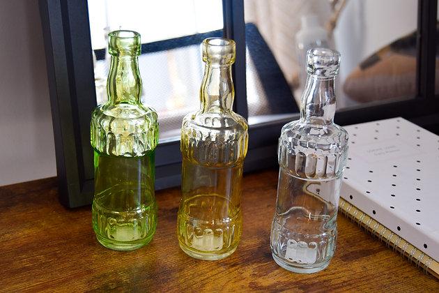 Vintage Inspired Glass Bottles
