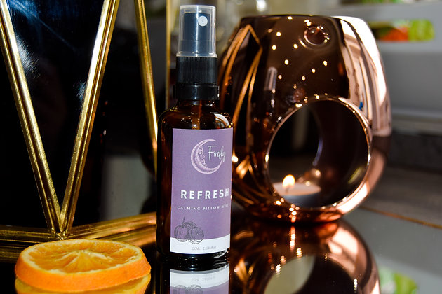 REFRESH- Orange + Eucalyptus Pillow Spray