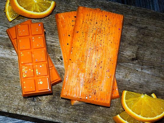 Sweet Orange Woodbarc Slab
