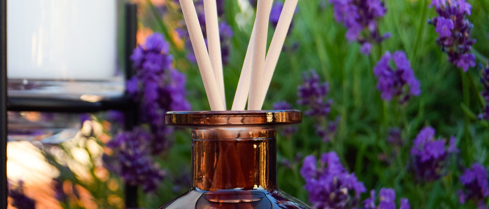 BRIGHT Ombre Glass Reed Diffuser - 140ml