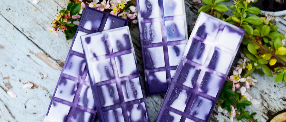(Waxident!) Lavender + Vanilla Wax Melt bar - Wrong Pattern