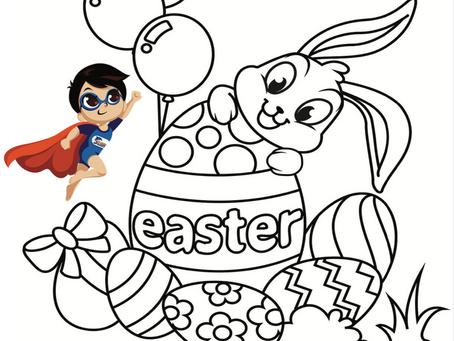 DLSA Easter Colour Competition