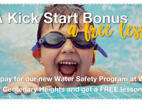 Score a FREE Lesson with our Kick Start Bonus