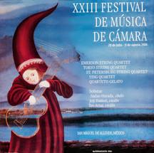 XXIII FESTIVAL  2001