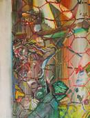 《NYのキリスト》キャンバスに油彩/41×32cm/2018 《Christ of NY》  Oil on canvas