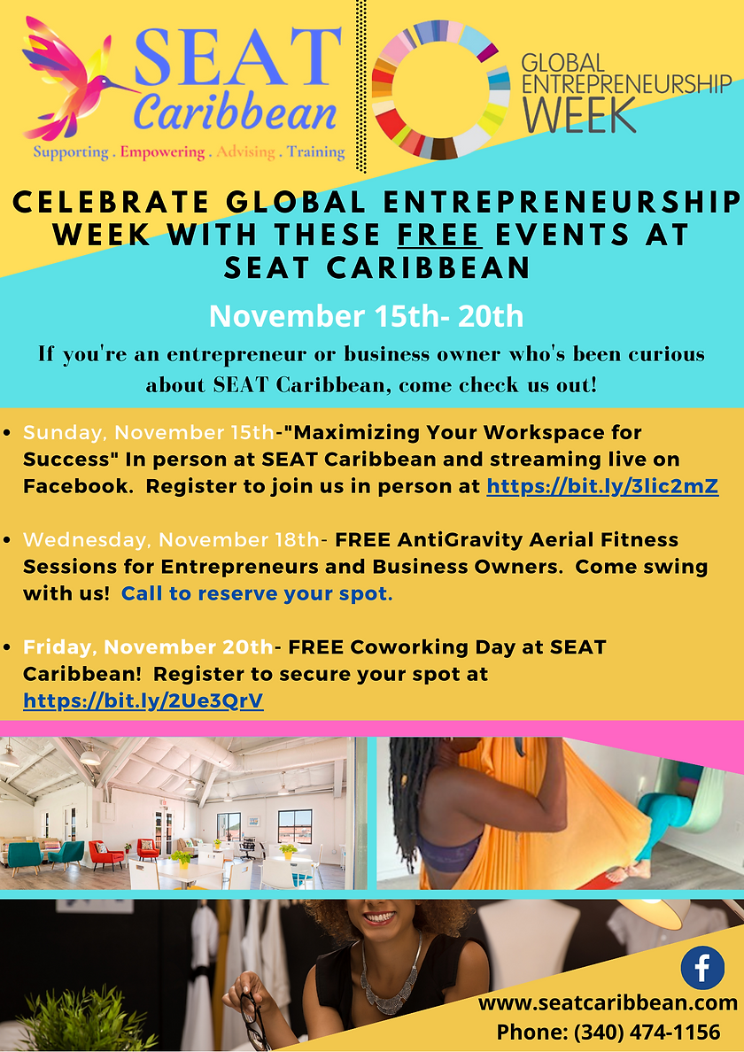 Global Entrepreneurship Week Events Flye