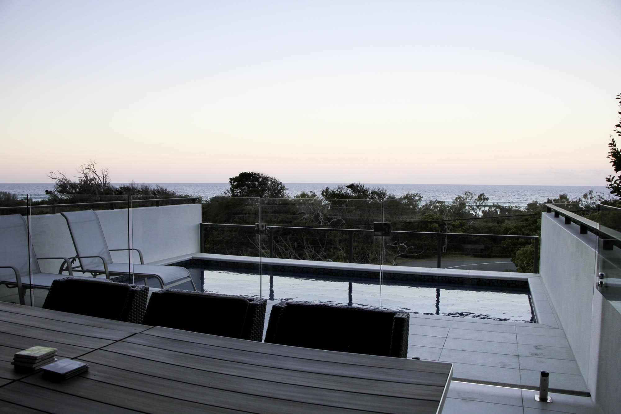 newport residence upper deck