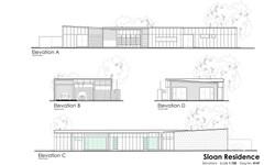 sloan residence elevations