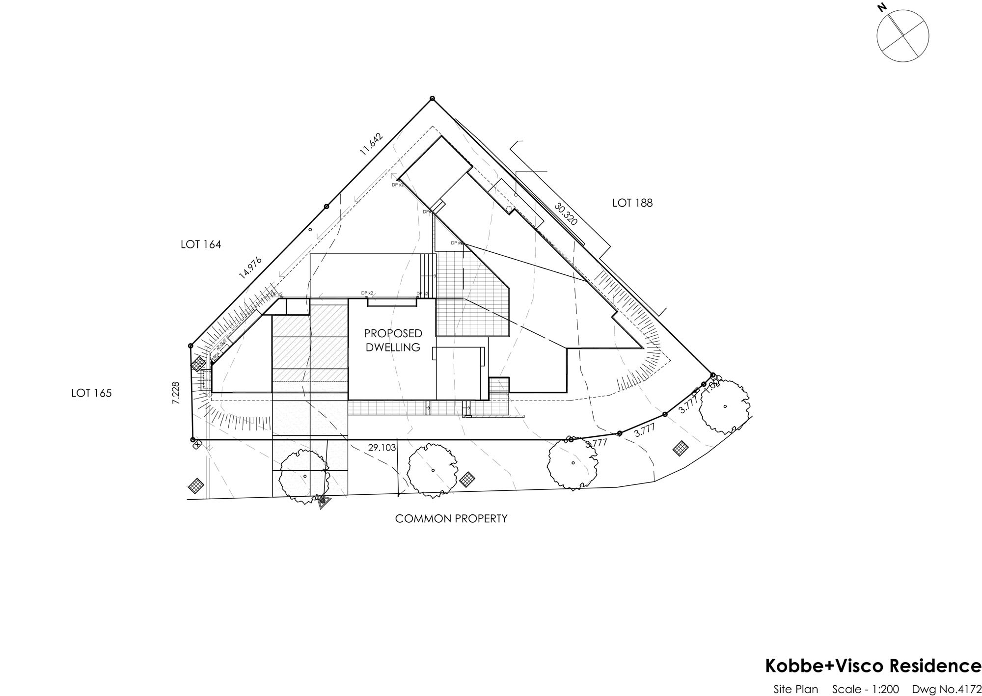VK House - Site Plan