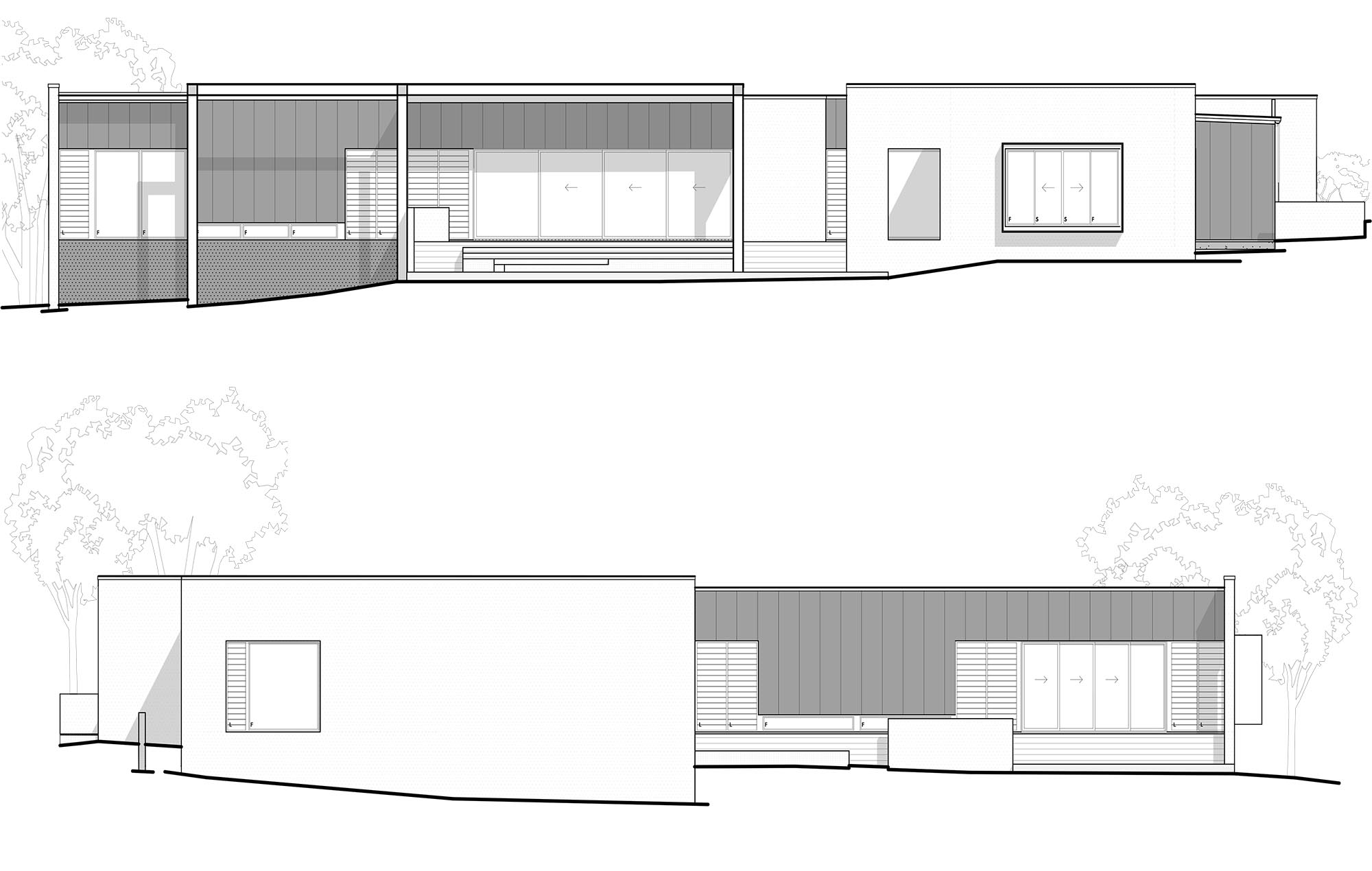 westerhuis elevations C+D