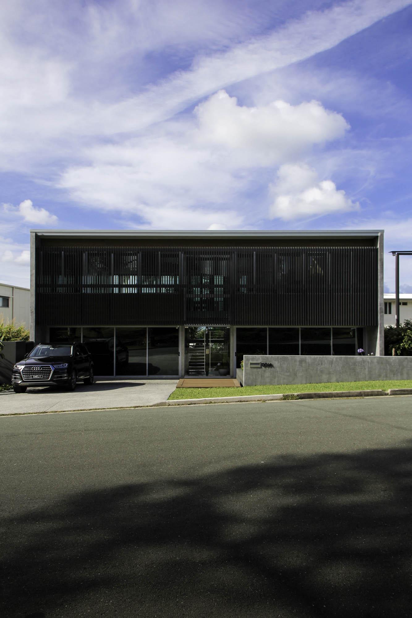 slater front facade