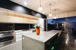 sloan residence kitchen