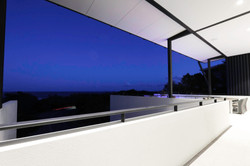 newport residence night view