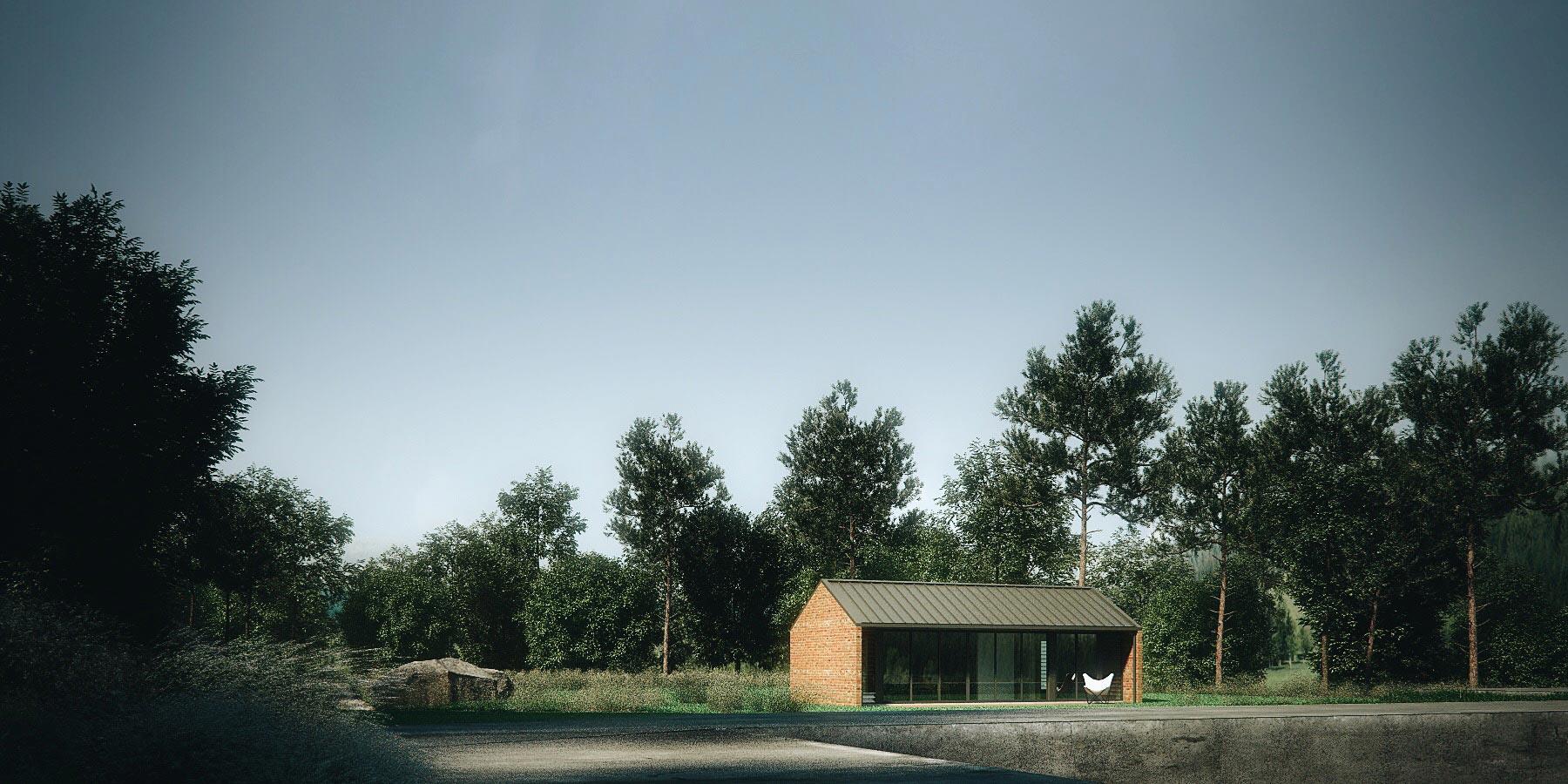 Archibungalows - Brick Gabled Option