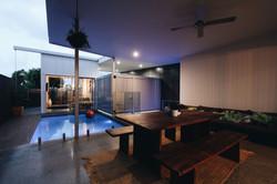 sloan residence outdoor living