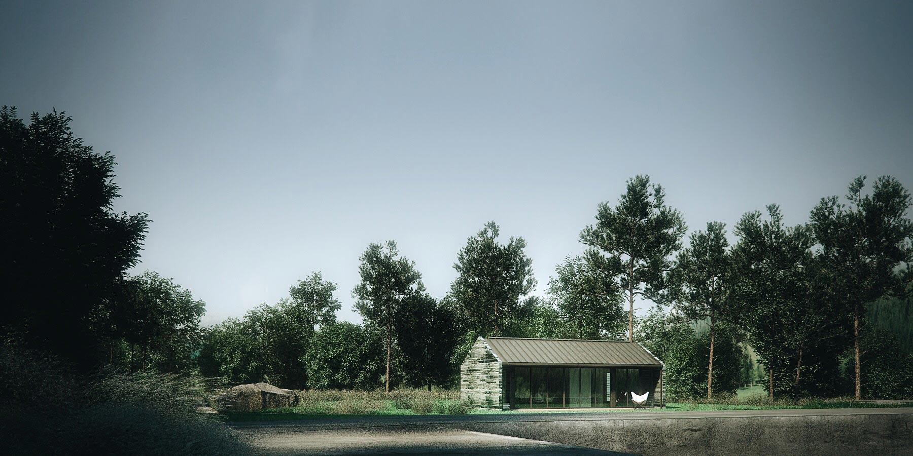 Archibungalows-Timber Gabled Option