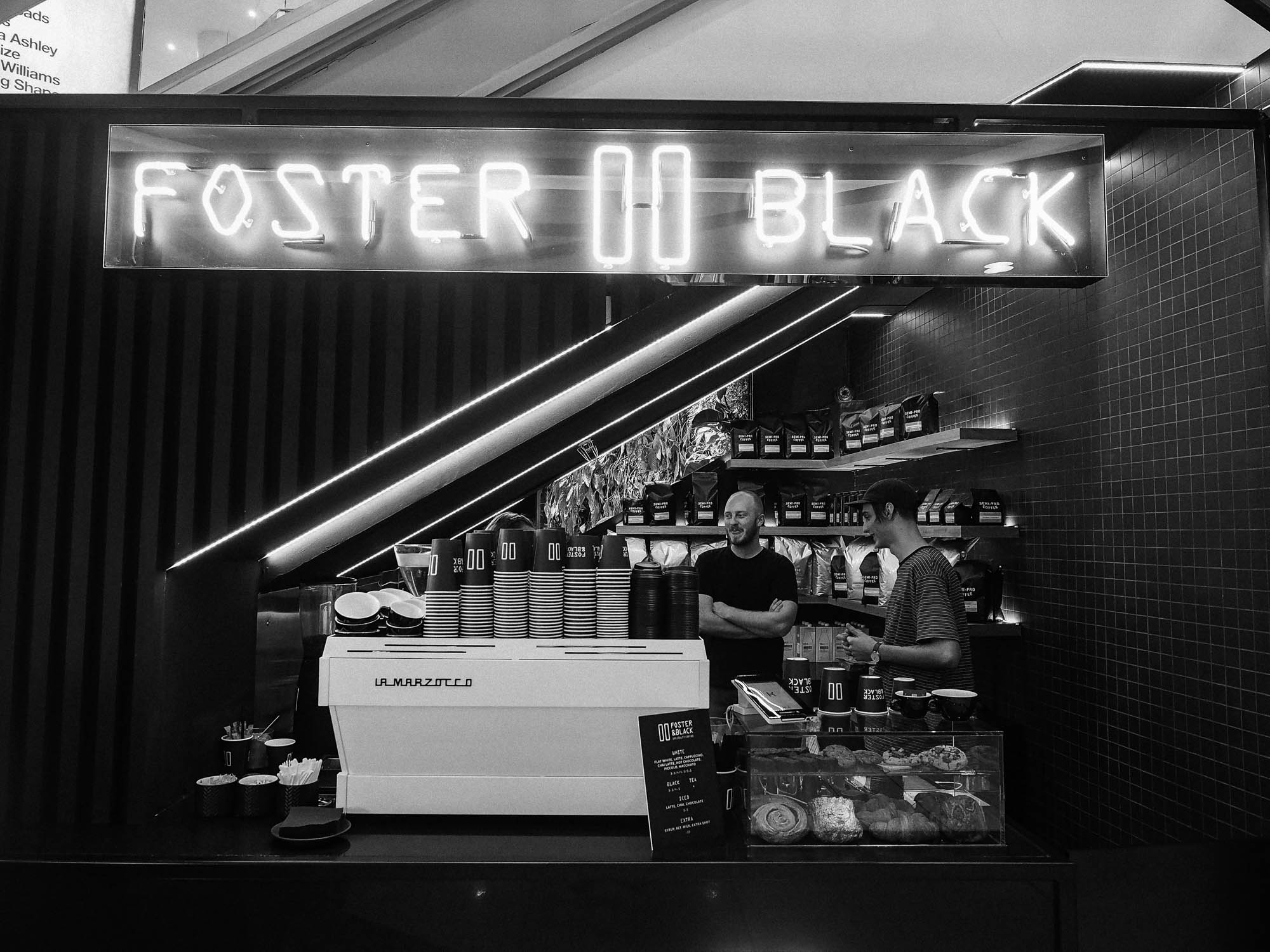 Foster and Black Cafes