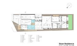 sloan residence floor plan