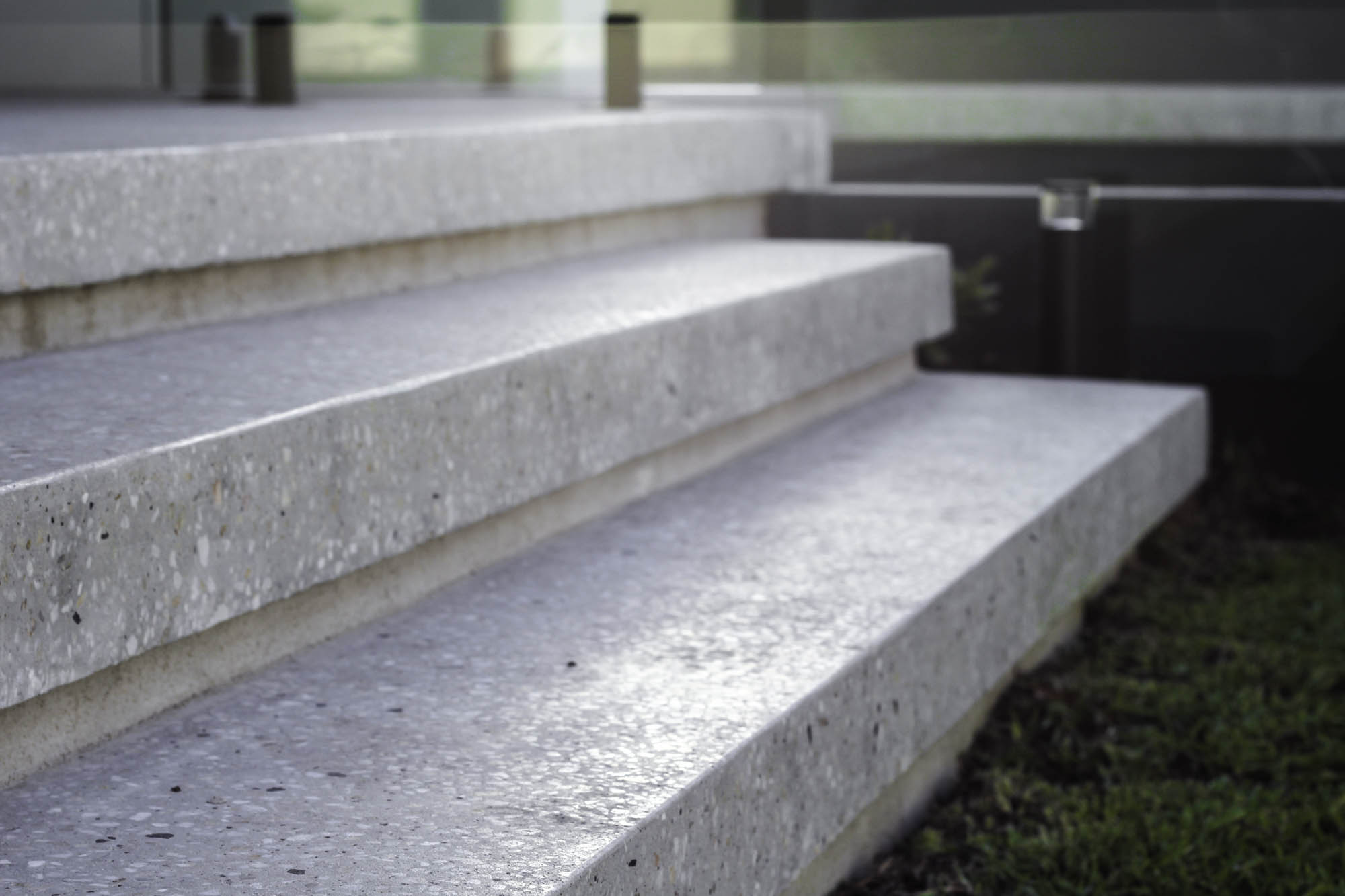 Formed Concrete Steps