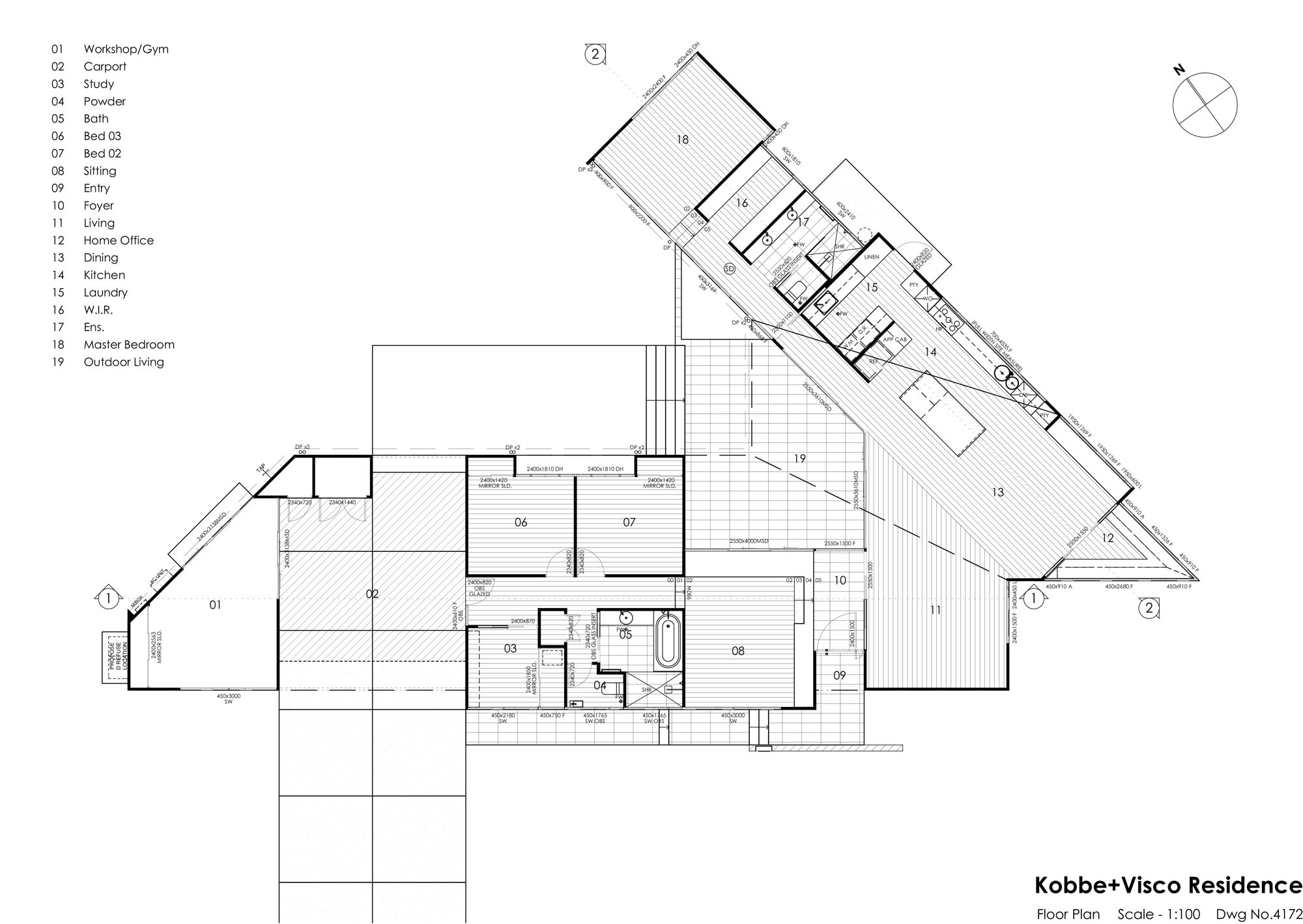 VK House - Floor Plan