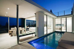 k-house pool and outdoor