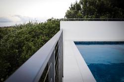 newport residence pool edge