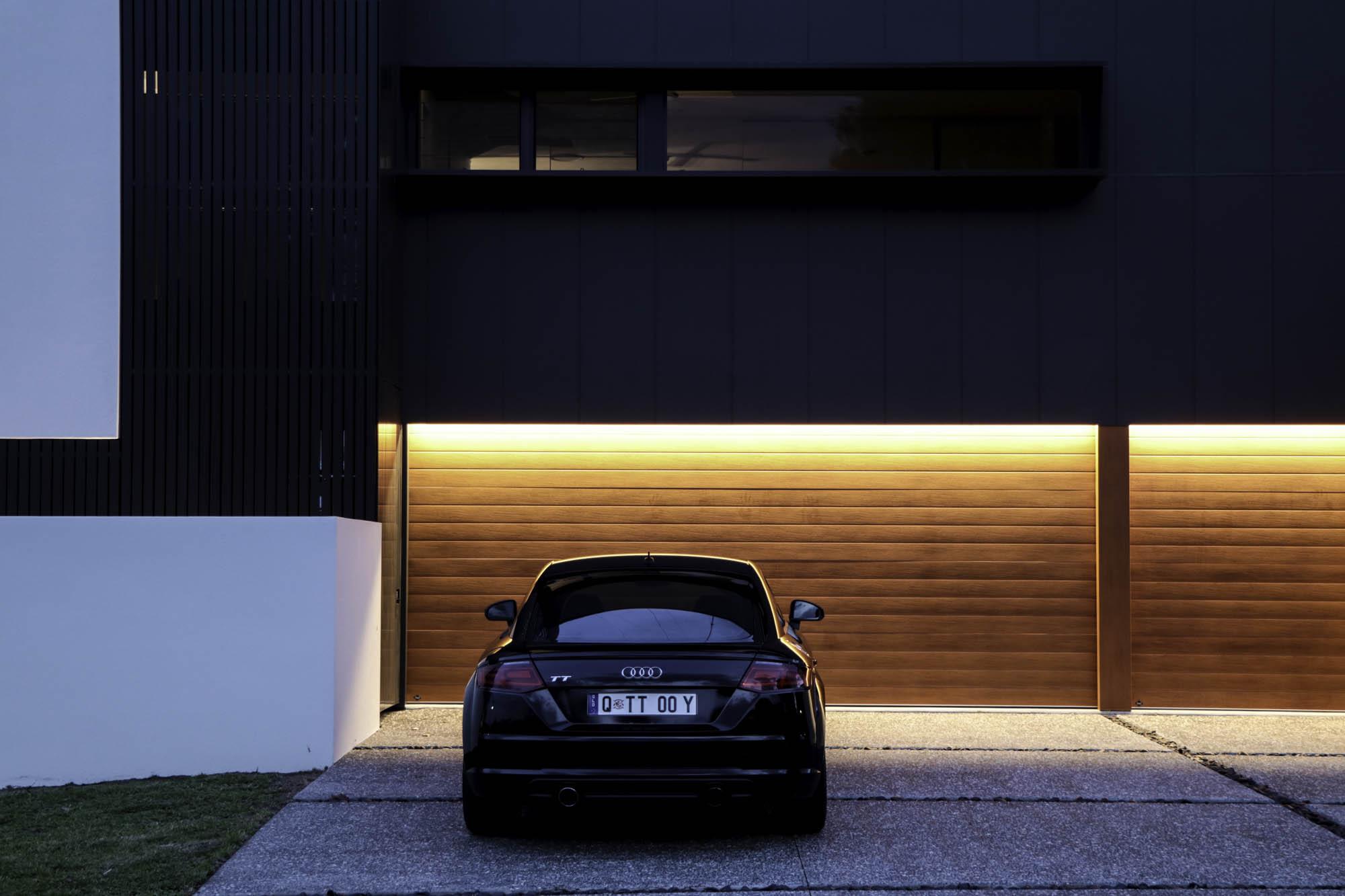 Garaging + Driveway