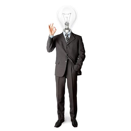 homem lampada