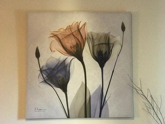 "Flowers Canvas 20""x20"" by AK"