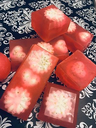 Jabón Natural de Rosa de Mosqueta (Rose Hips) y Menta