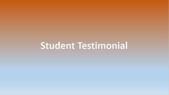 Testimonial by Student from uOttawa-Queen's Clinic 2019