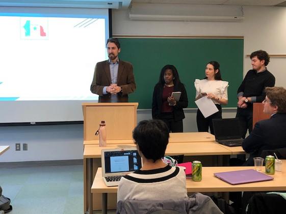 Student Presentations by Joint uOttawa-Queen's Practicum
