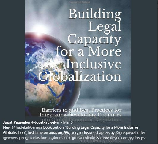 New Book on Legal Capacity Building