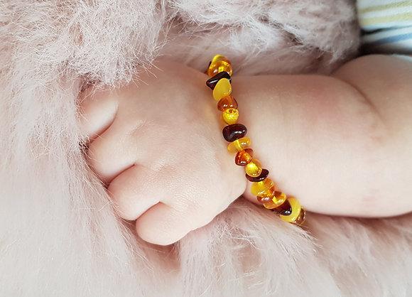 Bernstein Armband für Babys