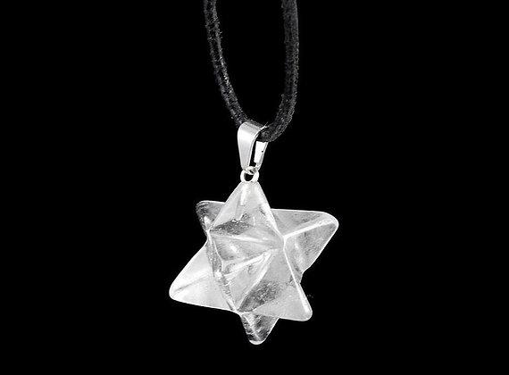 Energievoller Merkaba Bergkristall