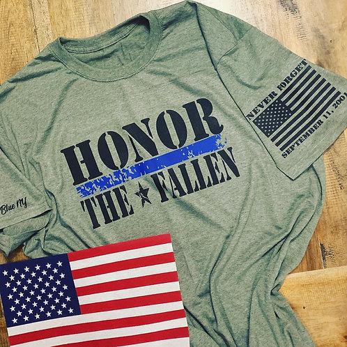 9/11 Honor the Fallen Tribute Tee