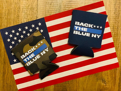 Back the Blue KOOZIES                                   2 for $12