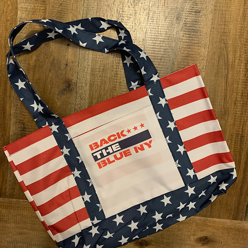 American Flag Logo Tote