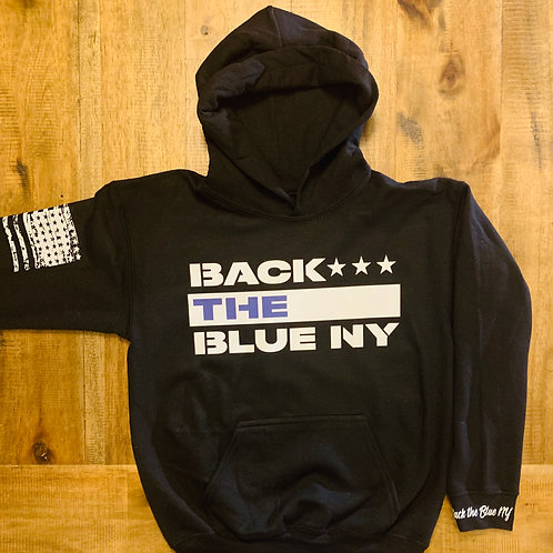Youth Back the Blue Mission Hoodie