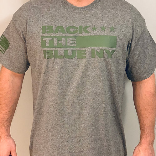 Back the Blue NY Mission Tee