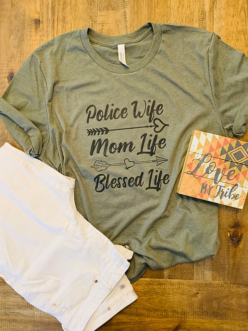 Police Wife, Mom, Blessed Life