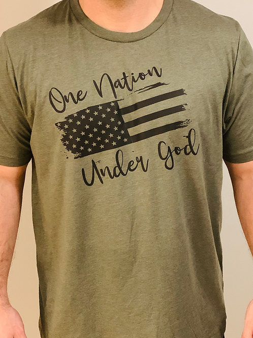 Military Green One Nation