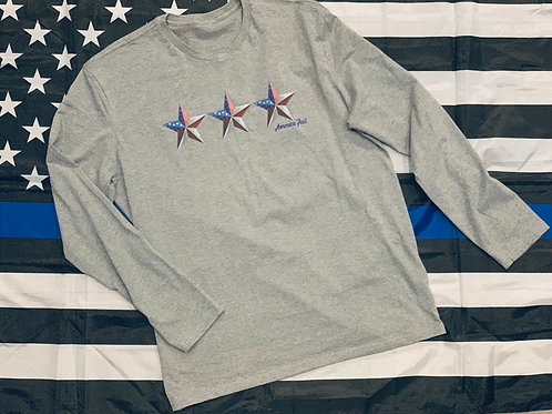 America First Long Sleeve Tee